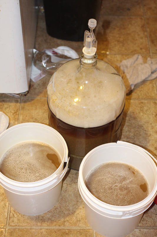 Wort split three ways